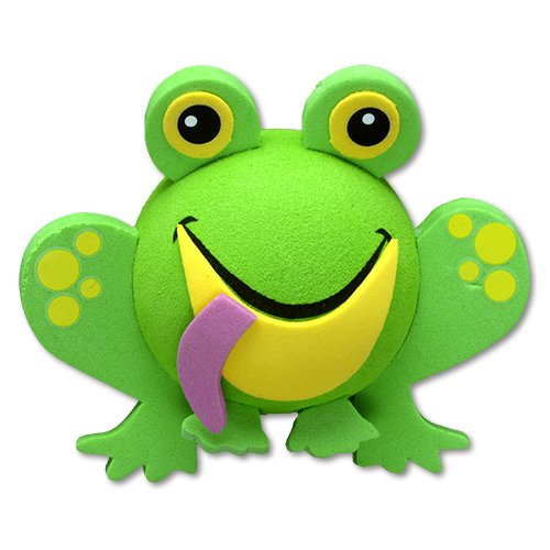 Tenna Tops Frog Car Antenna Topper / Antenna Ball / Mirror Dangler