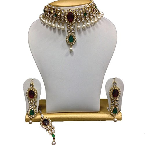 Kundan Jewelry Necklace - 9