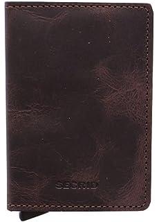 e89dbe8d1 Secrid SV-Chocolate Slimwallet Vintage RFID Secured Wallet