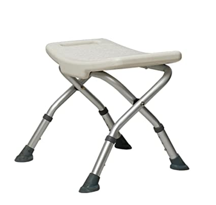 Home Improvement Folding Bathroom Wall Mounted Shower Seat Chair Steel Foldaway Elderly Disabled Mobility Safety Aid Solid Spa Stool Fixture Non-Ironing