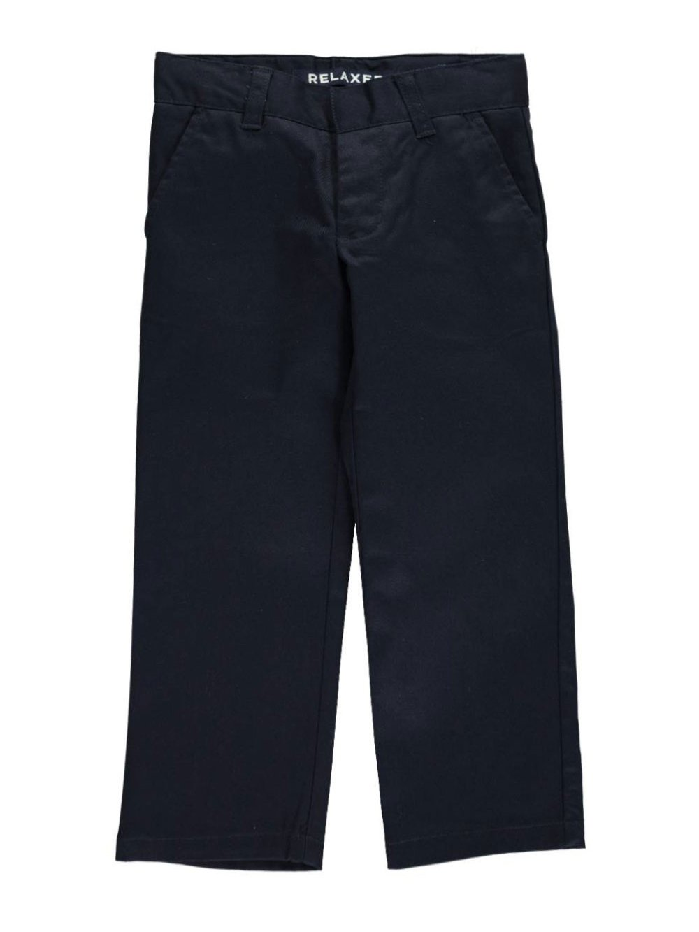 French Toast Little Boys' Wrinkle No More Relaxed Fit Pants - Navy, 6 Slim