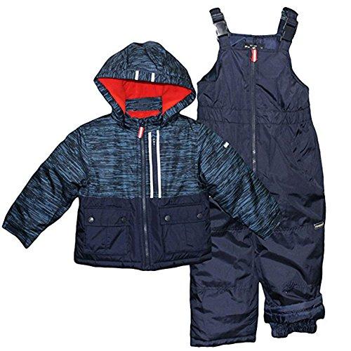 11f27172a7e1 Galleon - Osh Kosh Little Boys  Ski Jacket And Snowbib Snowsuit Set ...