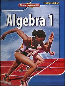 Glencoe mcgraw hill algebra 1 homework help