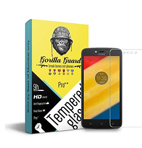 Gorilla guard's PRO++ series tempered glass for Moto C Plus