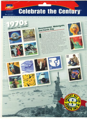 Celebrate the Century 1970s Commemorative Stamp