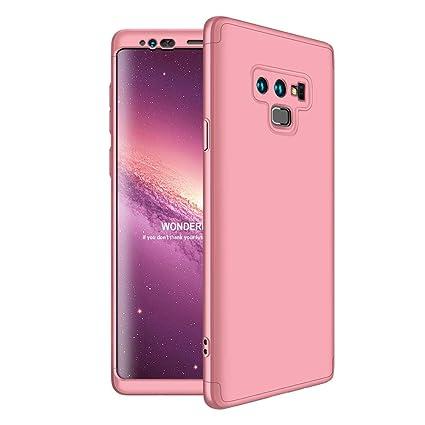 JMGoodstore Funda Samsung Galaxy Note 9,Carcasa Galaxy Note 9,Funda 360 Grados Integral para Ambas Caras+Cristal Templado,[360°] 3 in 1 Slim Fit ...