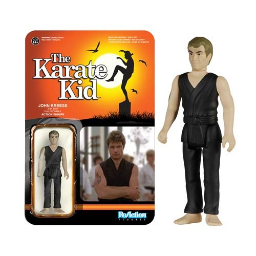 Karate Kid Kreese ReAction 3 3/4-Inch Retro Action Figure
