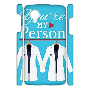 ZK-SXH - you are my person Brand New Durable 3D Cover Case Cover for Nexus 5, you are my person Cheap 3D Cell Phone Case