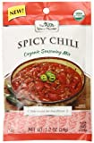 Spice Hunter Organic Spicy Chili Seasoning Mix, 1.2 Ounce (Pack of 12)