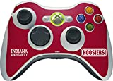 Indiana University Xbox 360 Wireless Controller Skin - Indiana Hoosiers Vinyl Decal Skin For Your Xbox 360 Wireless Controller