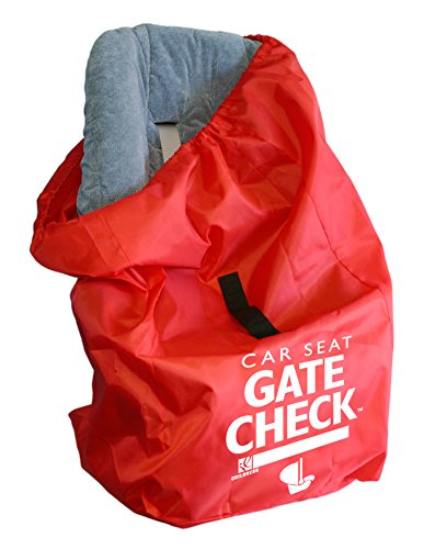 JL Childress Gate Check Bag for Car Seats, Red (Car Seat Vest)