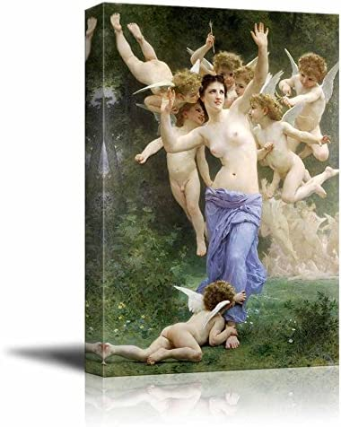 Invation by William Adolphe Bouguereau
