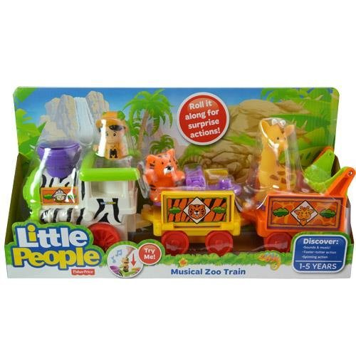 Fisher Price Little People Animal Sounds Zoo - Little People Musical Zoo Train Sounds and Music