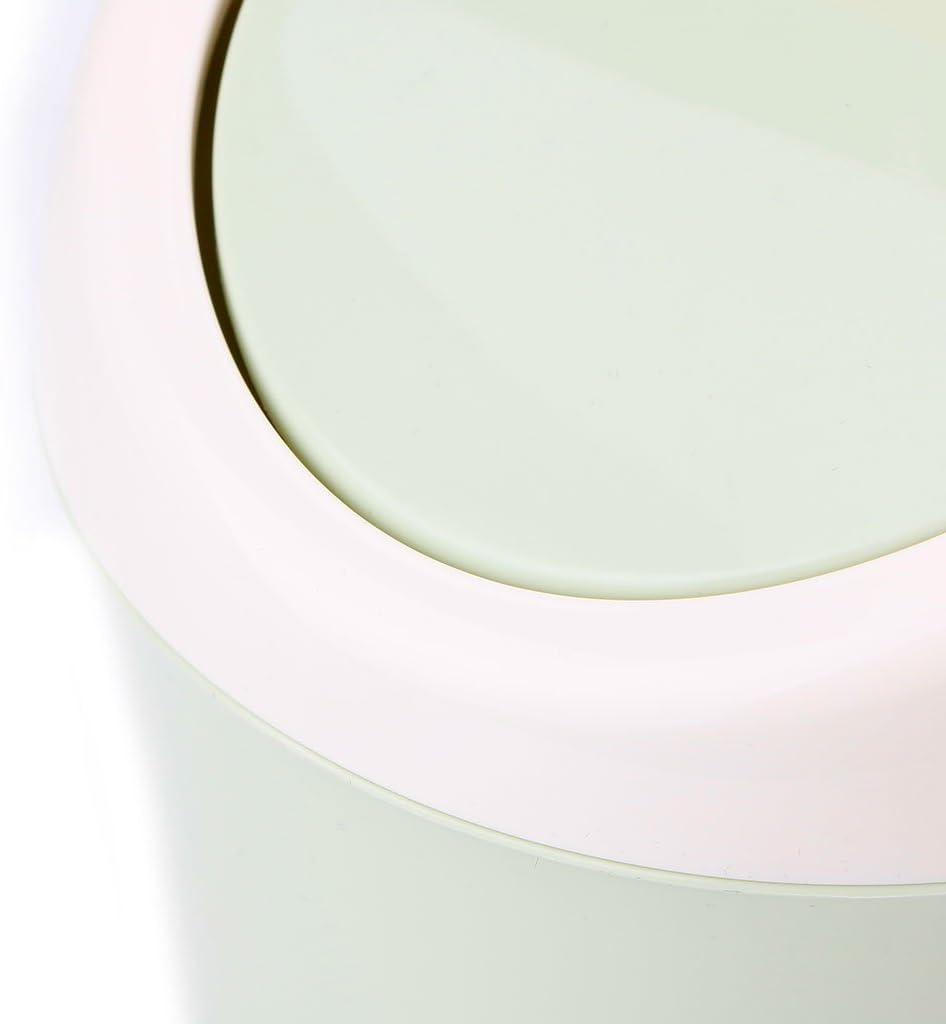 Verde CADANIA Mini Cestino per rifiuti Desktop Bidone della Spazzatura Contenitore per la casa Contenitore per rifiuti Cestino
