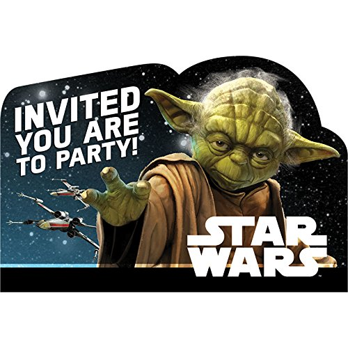 Star Wars Party Invitations (Star WarsTM Classic Postcard Invitations, Party)