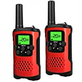 My-My 3-12 Year Old Boys Toys, Walkie Talkies for Kids 3-12 Year Old Girls Toys Boys Gifts Age 3-12 Girls Gifts Age 3-12 Red SSUSFJ04