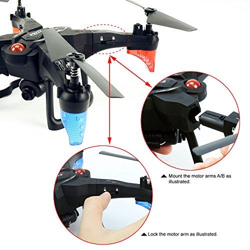 ZMH ZMH Véhicule Aérien sans Pilote Télécommande DIY Ensemble WiFi Set High Aircraft Télécommande Pilote Avion Modèle Jouet 27c367