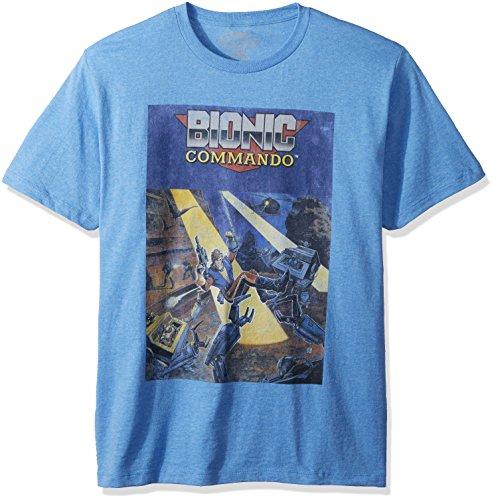 Commando Manches Bionic Classics Tee American Couvrir Pour shirt Homme Courtes wqEI575