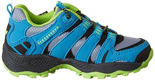 Lico Fremont - Zapatillas de Trekking y Senderismo de Media Caña Niños Grau (GRAU/BLAU/LEMON)