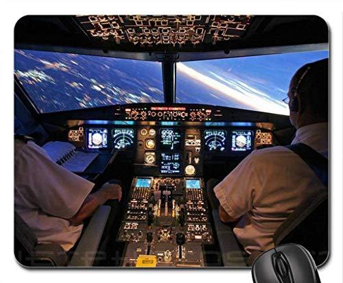 Echonie Airbus A320 Cockpit Mouse Pad, Mousepad