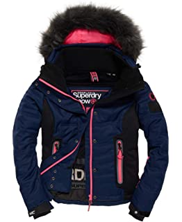 Veste De Ski Superdry Ultimate Snow Black   Mint  Amazon.fr  Sports ... aa192131e58f