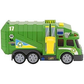 Amazon Com Fast Lane Action Wheels Garbage Truck Green