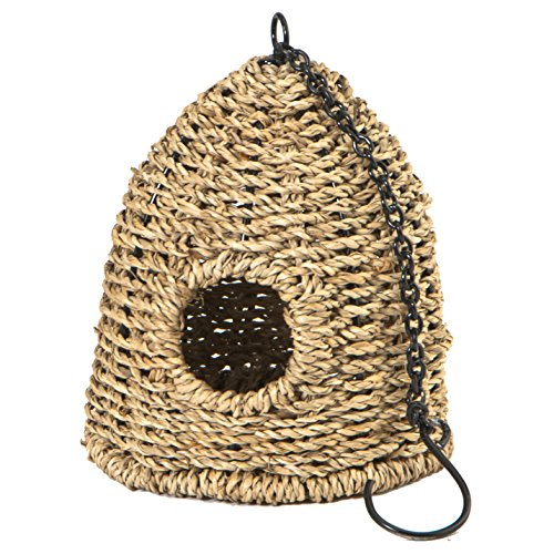 Barn Roosting Pocket, Seagrass. Comes with Hook Attachment.