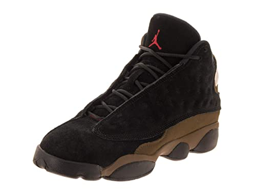 f3f4290293e Jordan Nike Kids Air 13 Retro BG Basketball Shoe