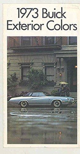 ra Paint Colors Brochure (Buick Riviera Color)