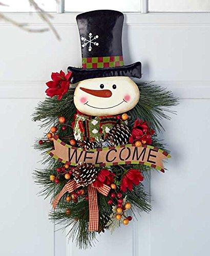 24'' Festive Snowman Swags