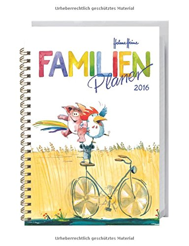 Helme Heine Familienplaner Buch A6 2016