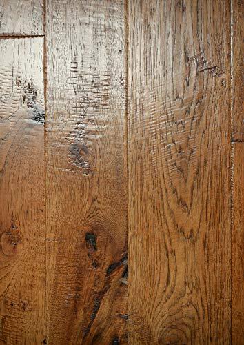 Handscraped Plank - Miseno MFLR-Sorel-E Montreal - Varying Width Planks Engineered Hardwood Flooring - Handscraped