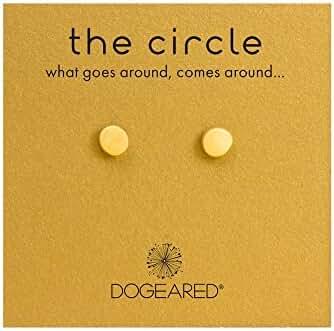 Dogeared The Circle Stud Pierced Earrings