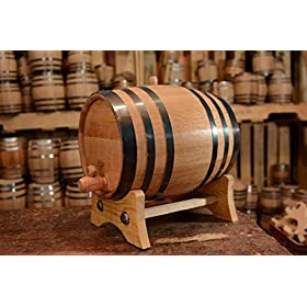 American Oak Aging Barrel | Handcrafted using American White Oak | Age your own Whiskey, Beer, Wine, Bourbon, Tequila, Hot Sauce & More