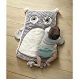 Levtex Home Baby Night Owl Fox Playmat, Taupe