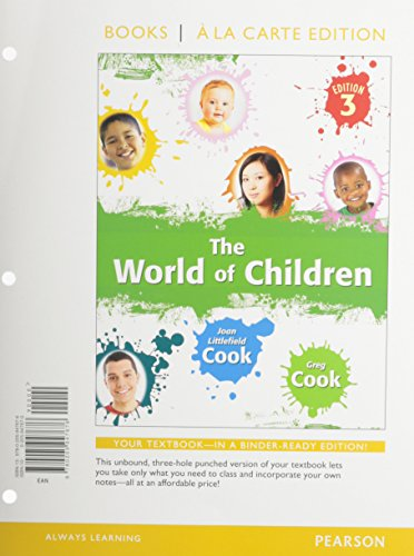 World of Children, The, Books a la Carte Plus NEW MyLab Psychology with eText -- Access Card Package (3rd Edition)