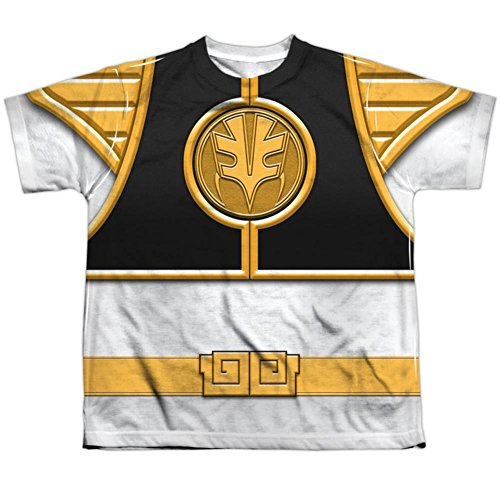 Youth: Power Rangers - White Ranger Kids T-Shirt Size YS
