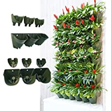 Worth Self Watering Vertical Garden Planter,Greening Wall Flowerpot,Hanging Plant Pots with 3-pockets and 3pc Filter Layer (Buy 3 Sets Get Free Shipping),Perfect for Indoor & Outdoor Decoration