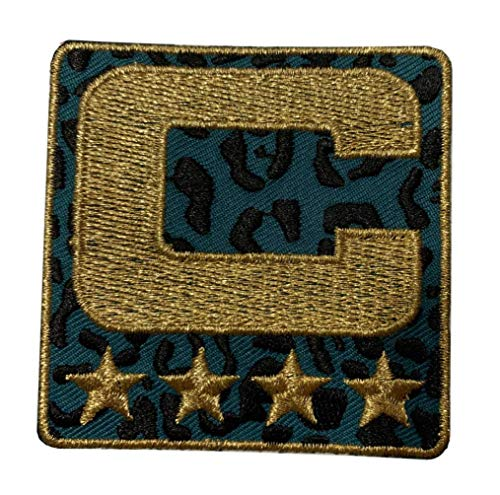 Jacksonville Captain C Patch - Premium Limited Alternate Edition - Iron On for Football Jersey