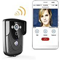 Ennio WI-FI Wireless Video Door Phone Doorbell Intercom With Night Vision waterproof IP55