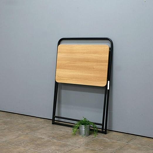 Alppq Mesa Plegable portátil para el hogar, Escritorio para ...