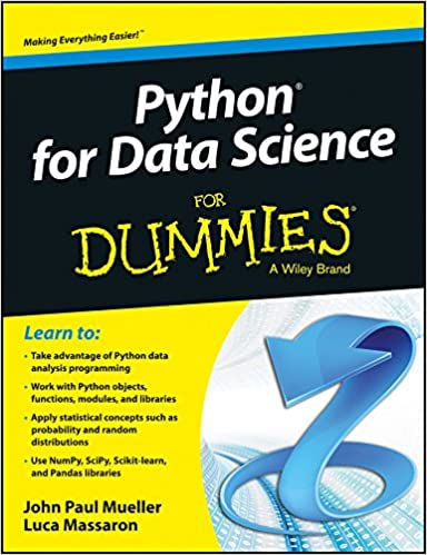 Buy Python For Data Science For Dummies Book Online At Low Prices In