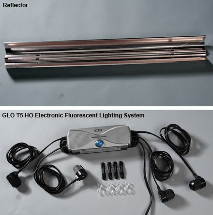 GLO T5 HO Electronic Fluorescent Lighting System 48