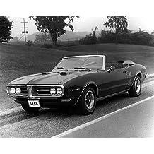 1968 Pontiac Firebird Convertible Factory Photo