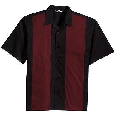 f2b3558f6187 Amazon.com  Clothe Co. Men s Retro Bowling Camp Shirt  Clothing