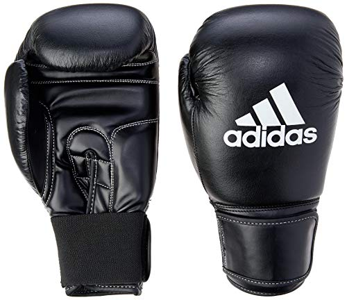 ADIDAS PERFORMER BOXING GLOVE 14OZ Preto/Branco