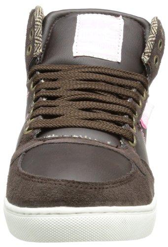 British Knights Douglas B32-3675 Unisex-Erwachsene Sneaker Braun (dk.brown/pink 8)