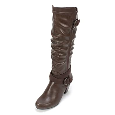 Rialto Crystal Knee High Boot (Women's) 5InfCU