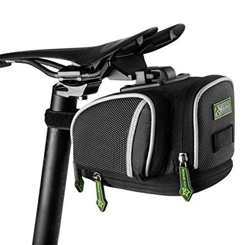 RockBros Road Mountain Bike Saddle Bag Under Seat Post Bag Fixed Gear Fixie (Release Bag)