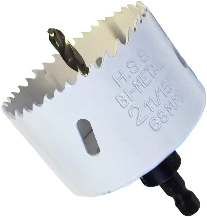 Scie tr/épan BIM Diam/ètre 68/mm avec tige 6/pans et foret